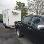 Mobile Freezer Hire Towed